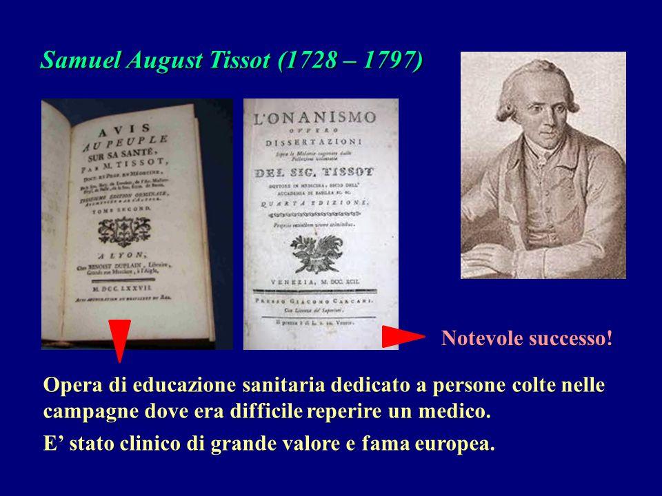Samuel August Tissot (1728 – 1797)