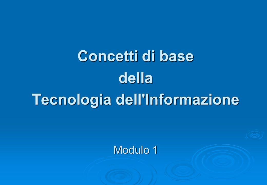 Tecnologia dell Informazione