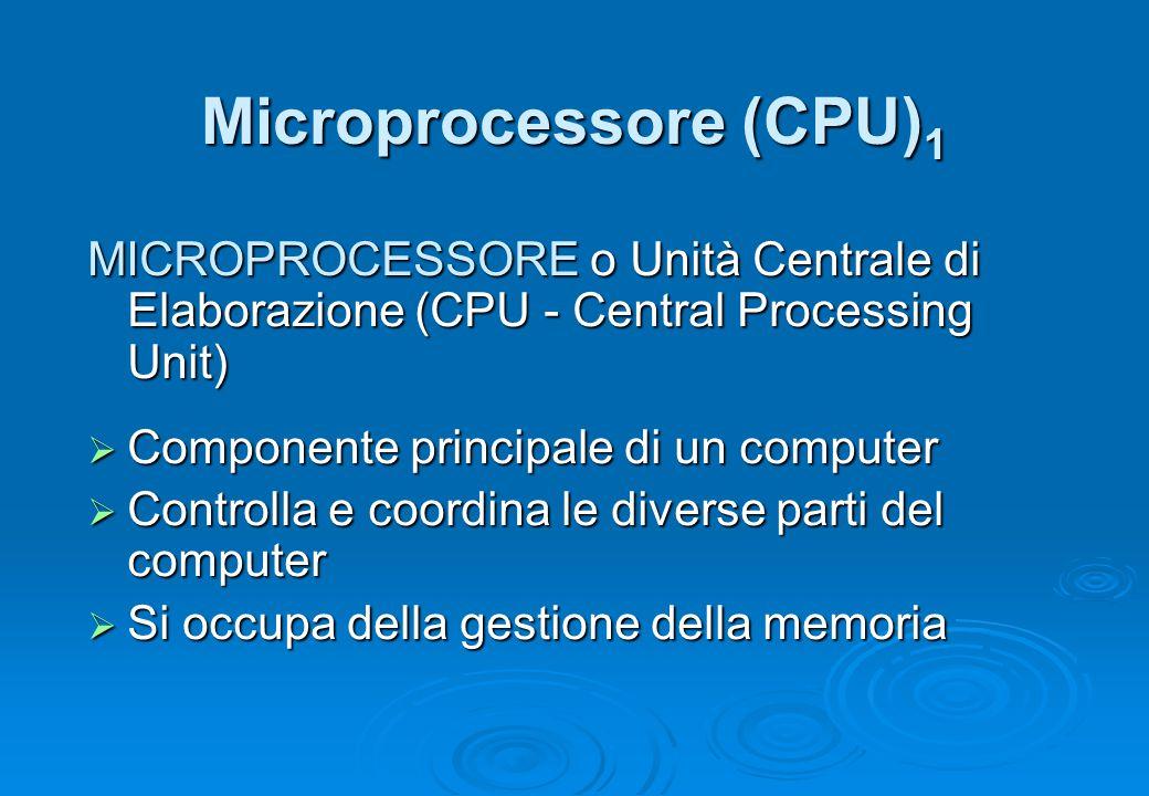 Microprocessore (CPU)1