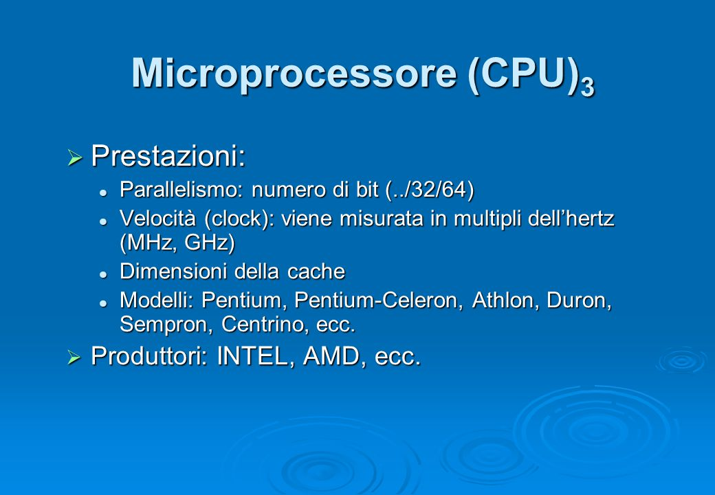 Microprocessore (CPU)3