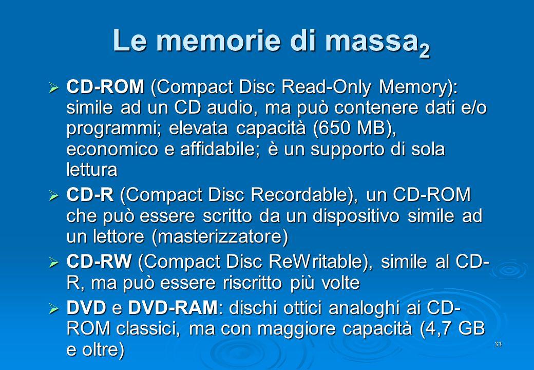 Le memorie di massa2