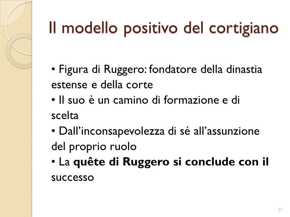 Il modello positivo del cortigiano