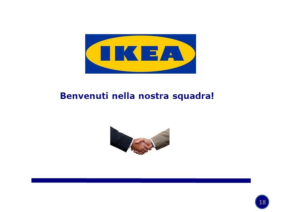 Benvenuti nella nostra squadra!
