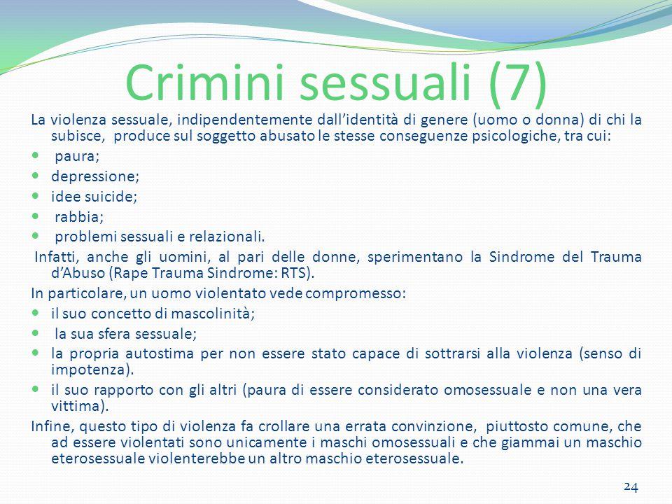 Crimini sessuali (7)