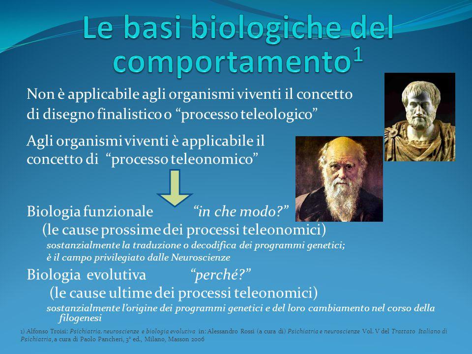 Le basi biologiche del comportamento1