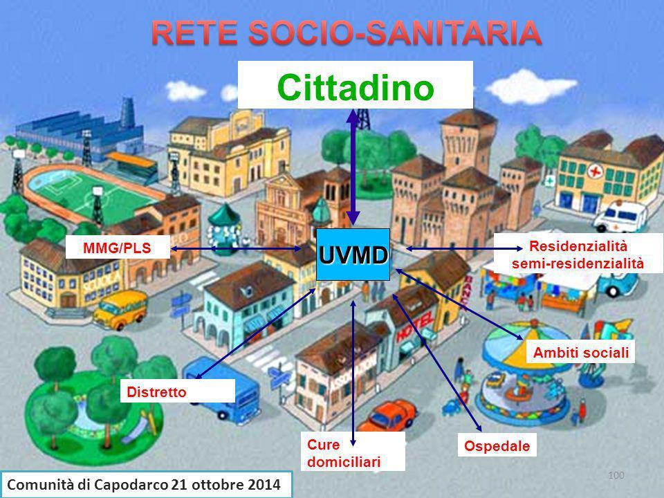 Cittadino UVMD Comunità di Capodarco 21 ottobre 2014 MMG/PLS