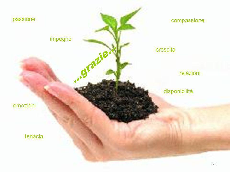 …grazie... passione compassione impegno crescita relazioni
