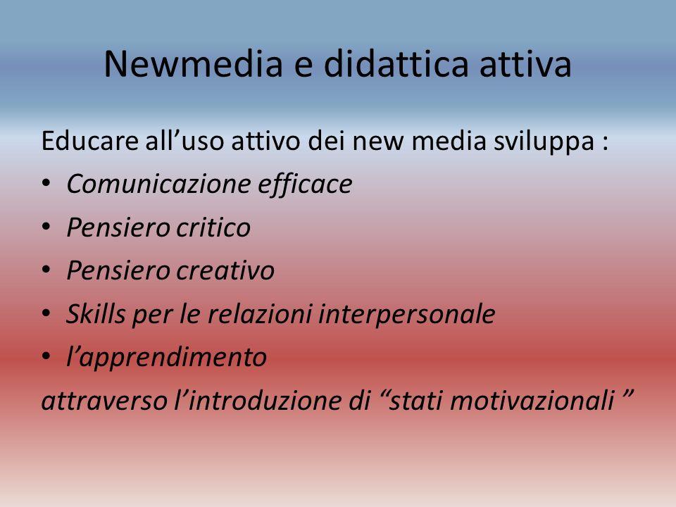 Newmedia e didattica attiva