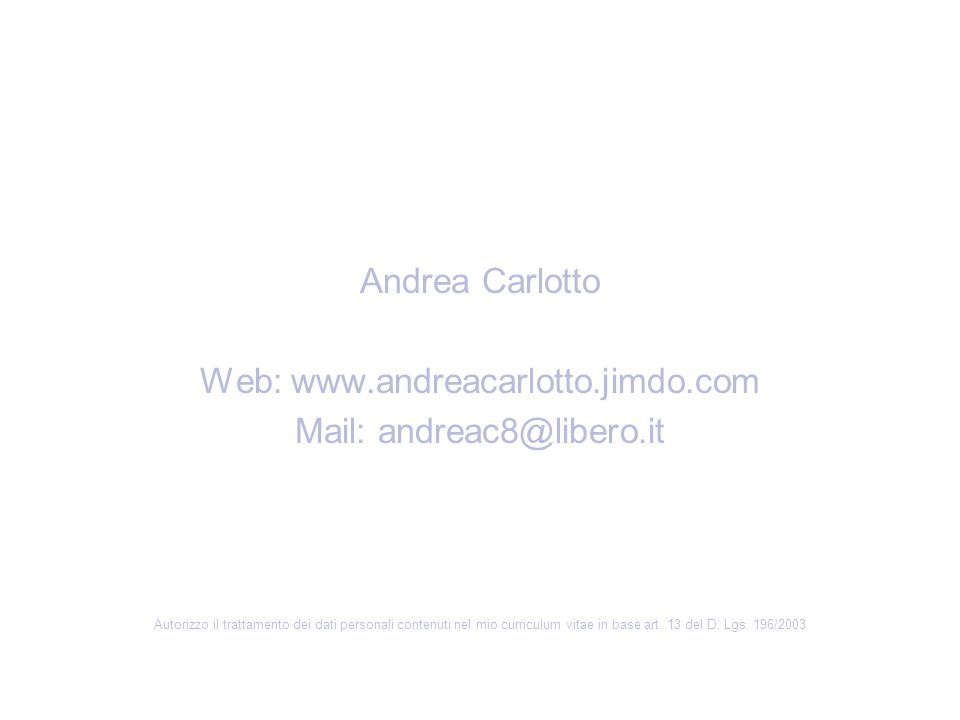 Mail: andreac8@libero.it