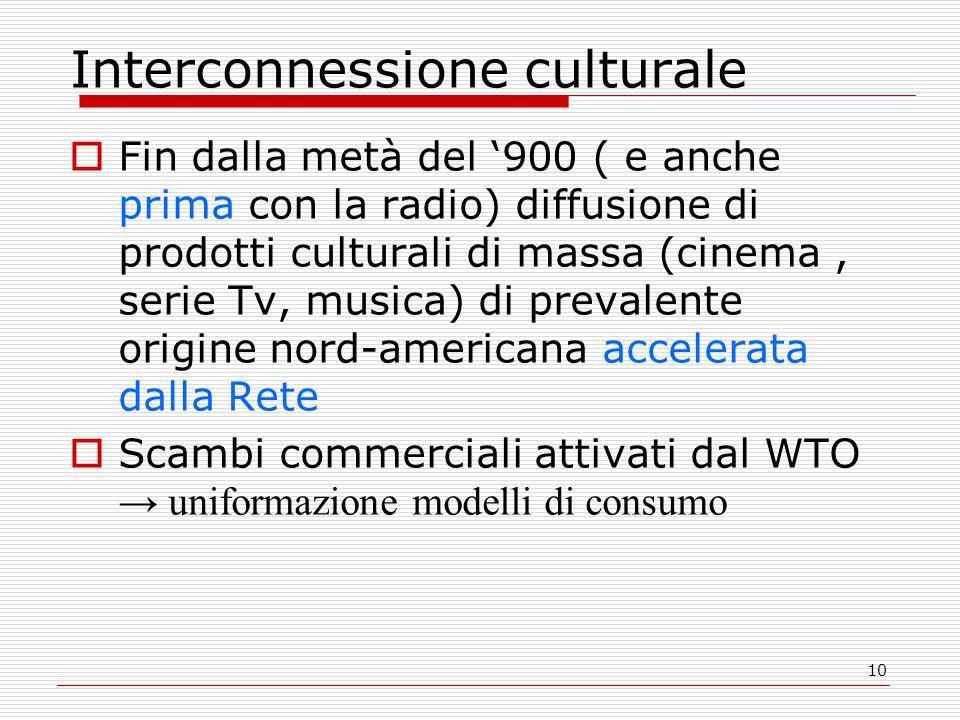 Interconnessione culturale
