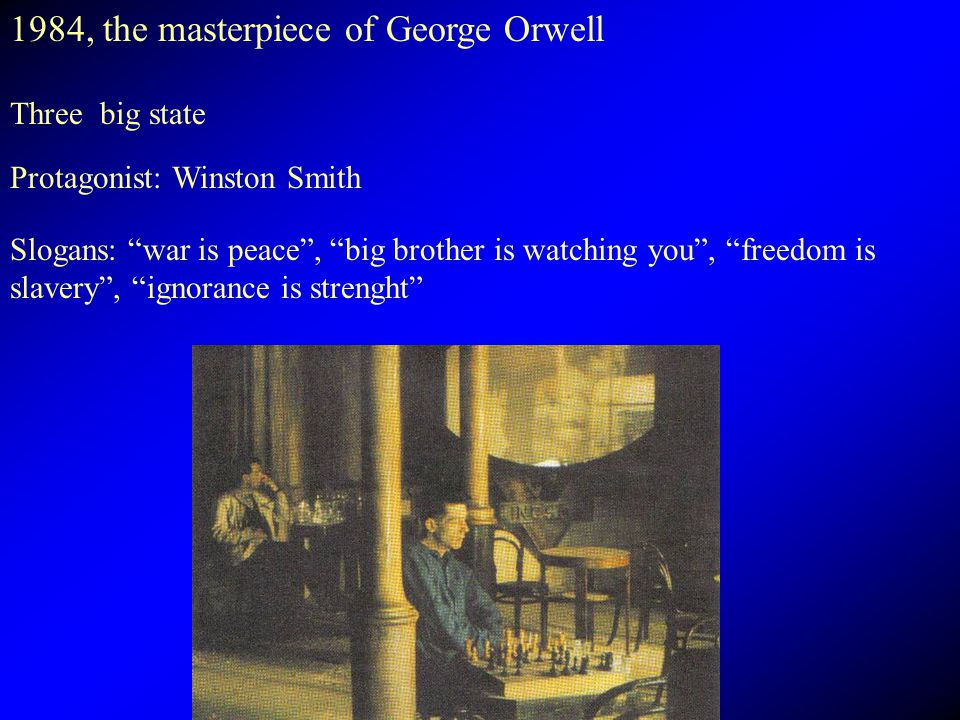 1984, the masterpiece of George Orwell