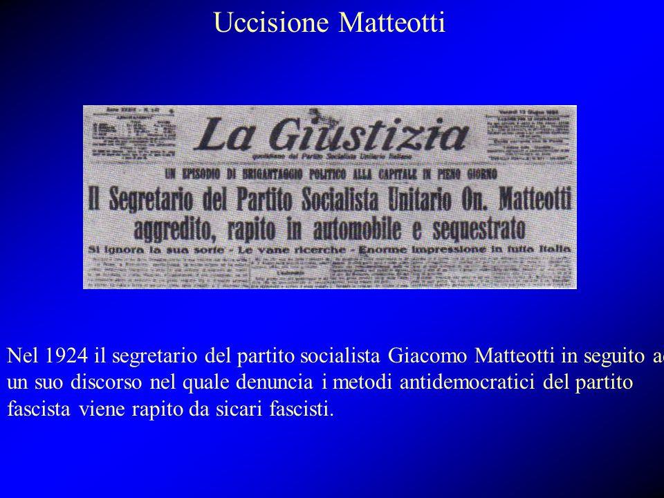 Uccisione Matteotti