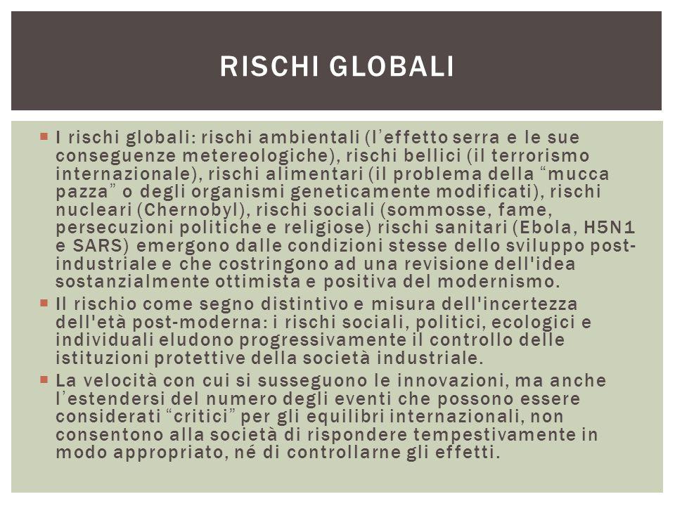 Rischi globali