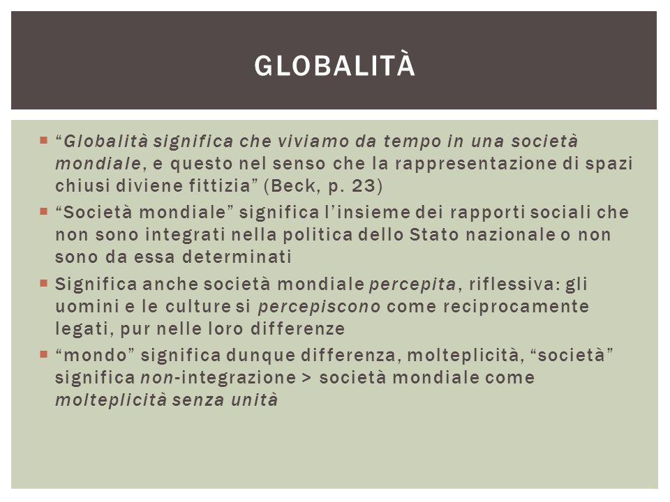 globalità