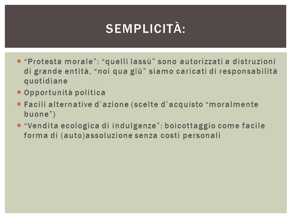 Semplicità:
