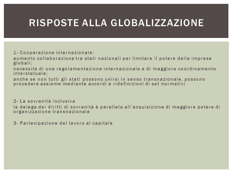 Risposte alla globalizzazione