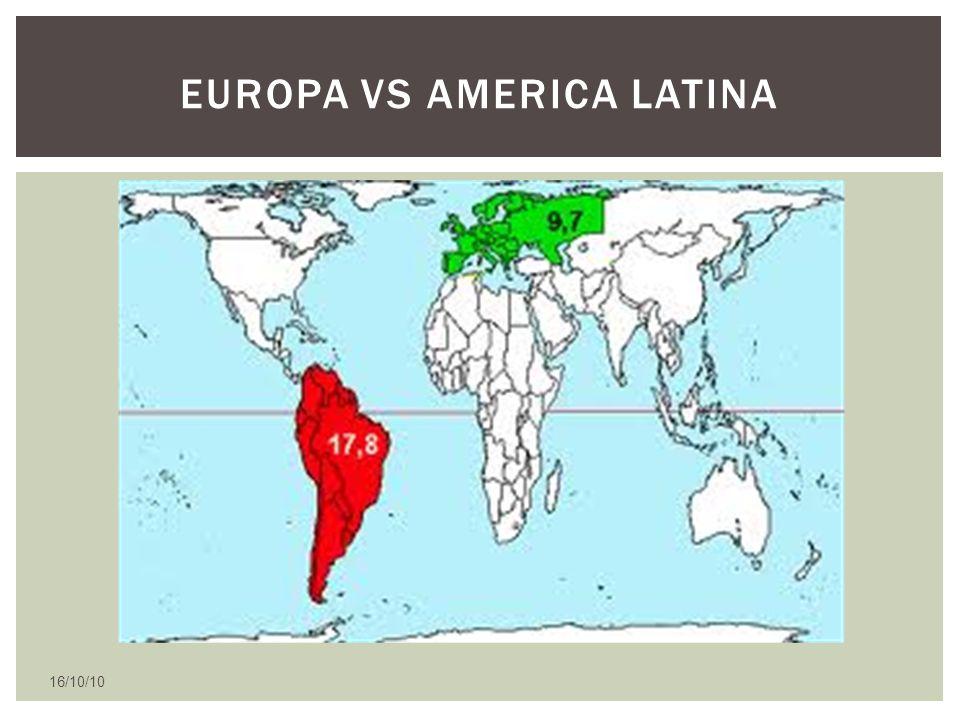 Europa vs America Latina