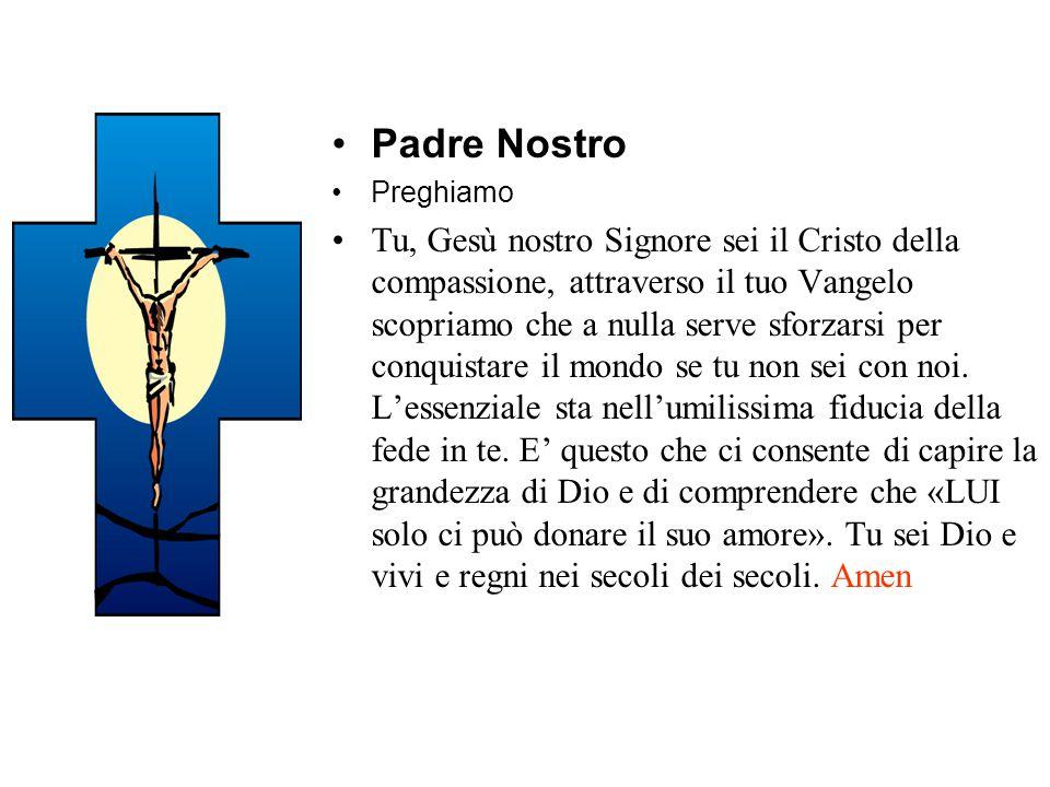 Padre Nostro Preghiamo.