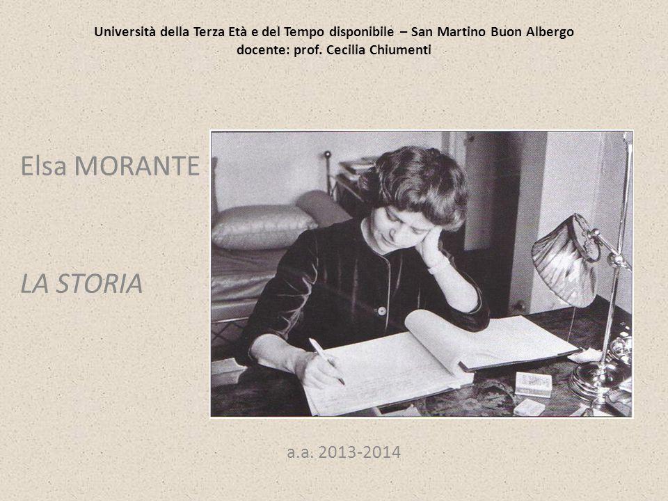 Elsa MORANTE LA STORIA a.a. 2013-2014