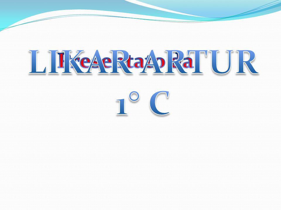 LIKAR ARTUR 1° C Presentato da: