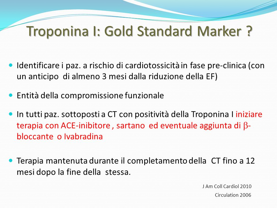 Troponina I: Gold Standard Marker