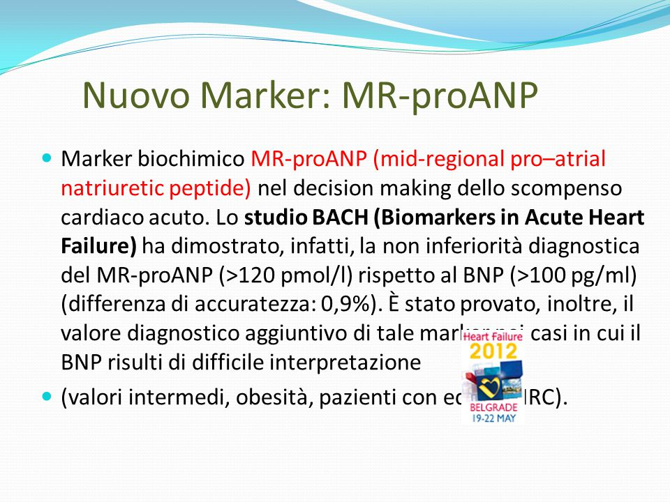 Nuovo Marker: MR-proANP
