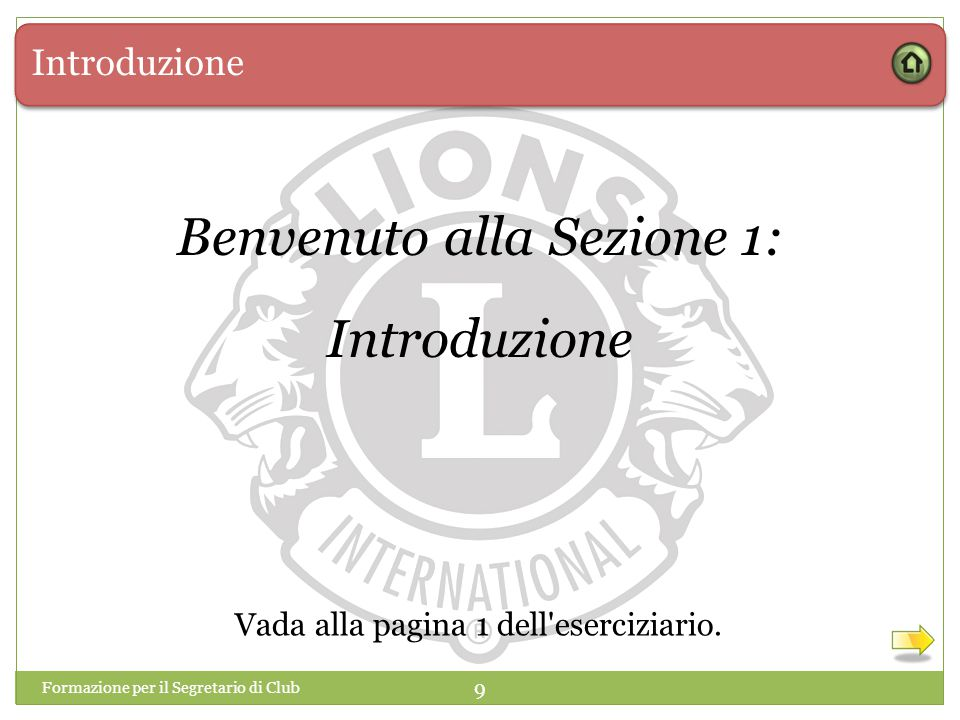 Benvenuto alla Sezione 1: Introduzione