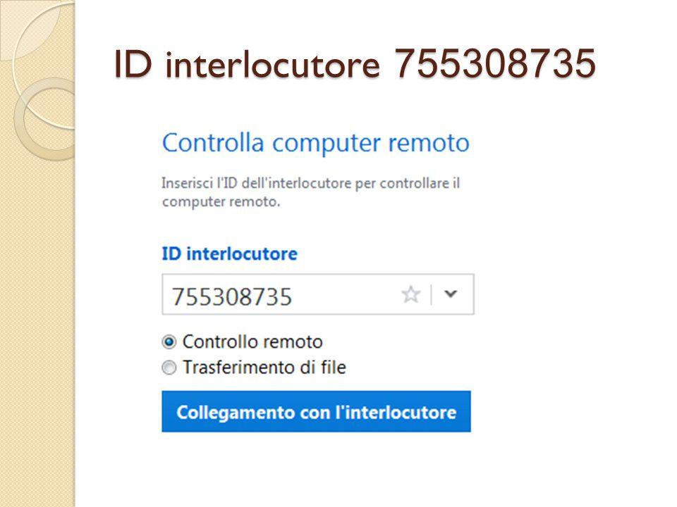ID interlocutore 755308735