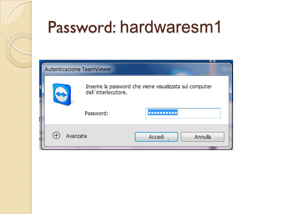 Password: hardwaresm1
