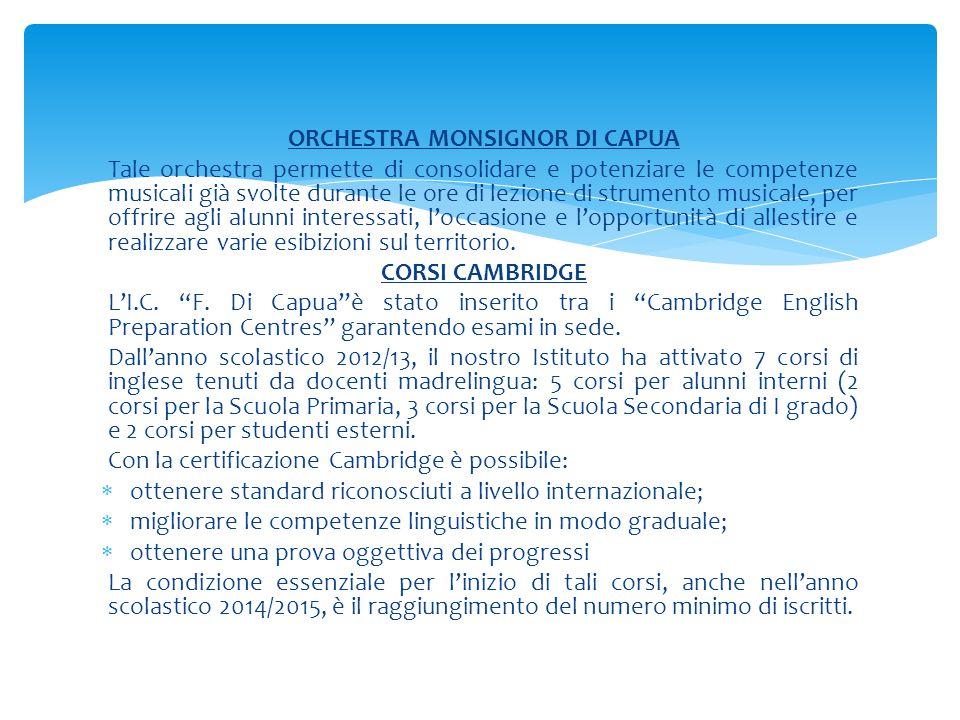 ORCHESTRA MONSIGNOR DI CAPUA