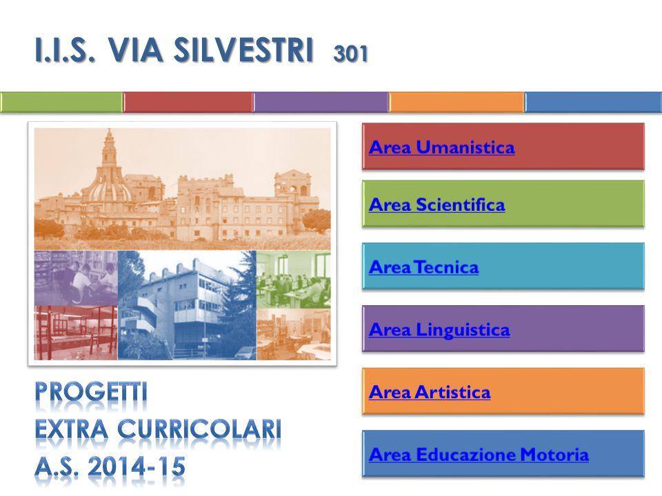 I.I.S. VIA SILVESTRI 301 PROGETTI EXTRA CURRICOLARI a.s. 2014-15