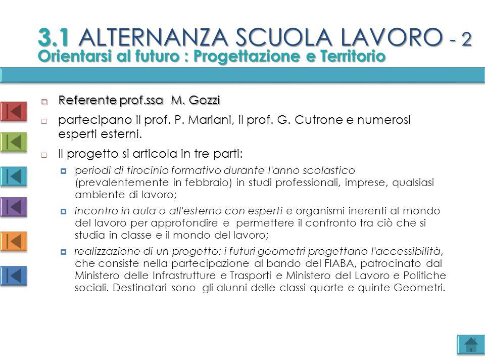 3.1 ALTERNANZA SCUOLA LAVORO - 2
