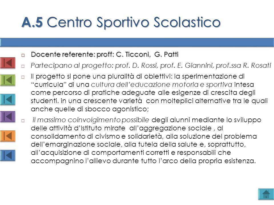 A.5 Centro Sportivo Scolastico