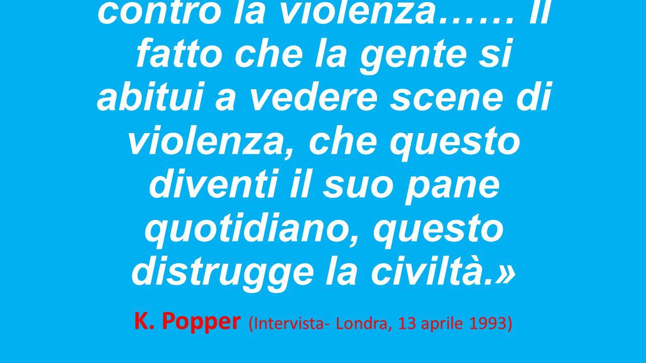 K. Popper (Intervista- Londra, 13 aprile 1993)