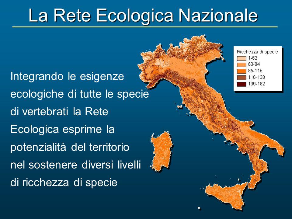 La Rete Ecologica Nazionale