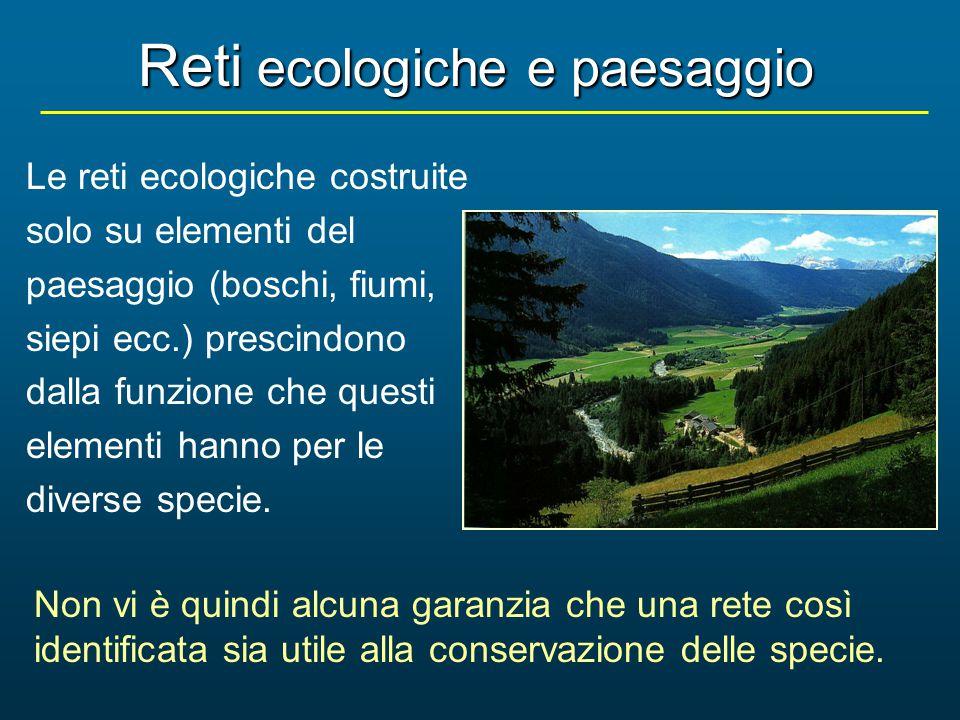 Reti ecologiche e paesaggio