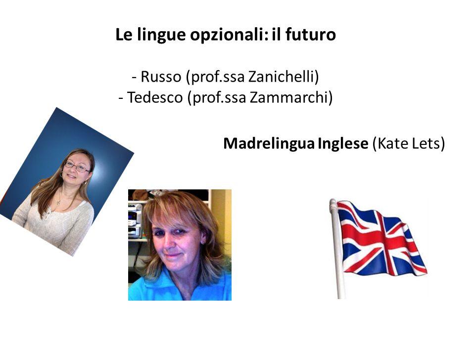 Le lingue opzionali: il futuro - Russo (prof