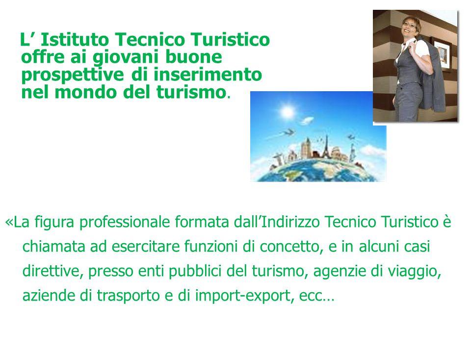 prospettive di inserimento nel mondo del turismo.