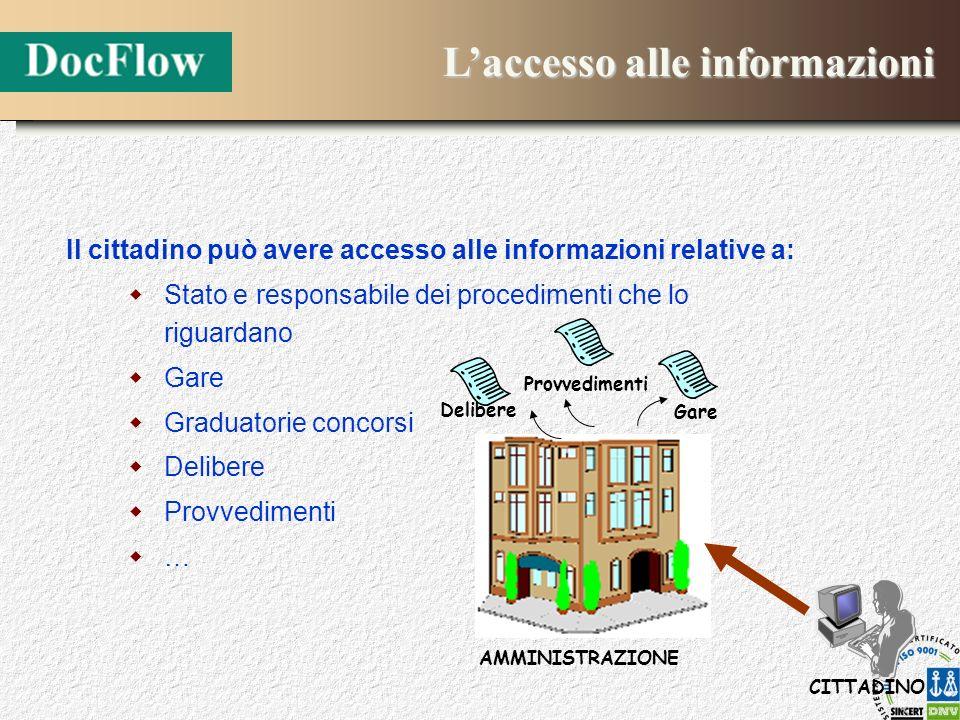 L'accesso alle informazioni
