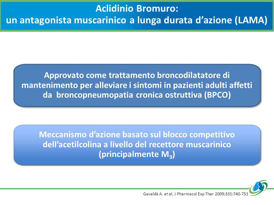 Aclidinio Bromuro: un antagonista muscarinico a lunga durata d'azione (LAMA)
