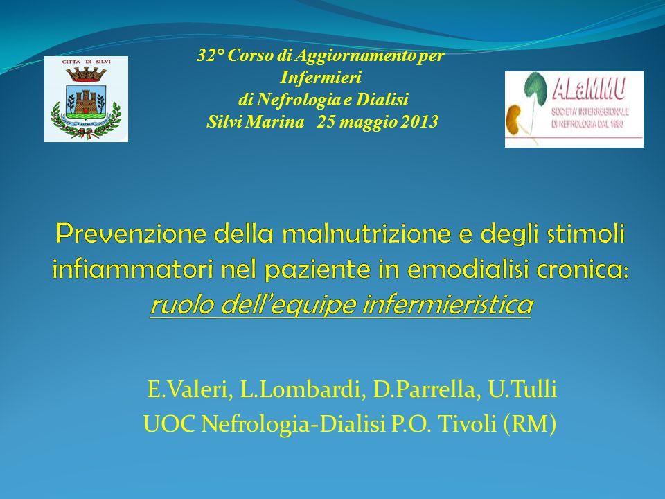 32° Corso di Aggiornamento per Infermieri di Nefrologia e Dialisi