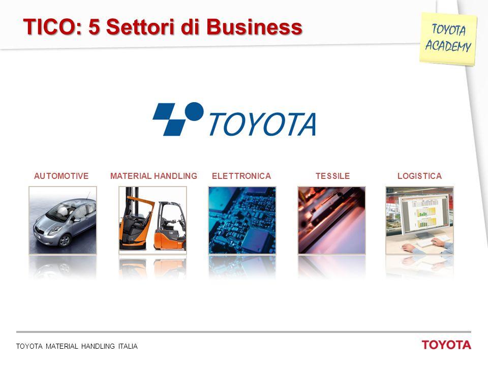 TICO: 5 Settori di Business