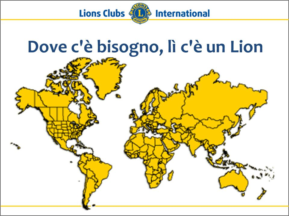 Dove c è bisogno, lì c è un Lion