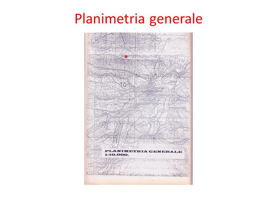 Planimetria generale