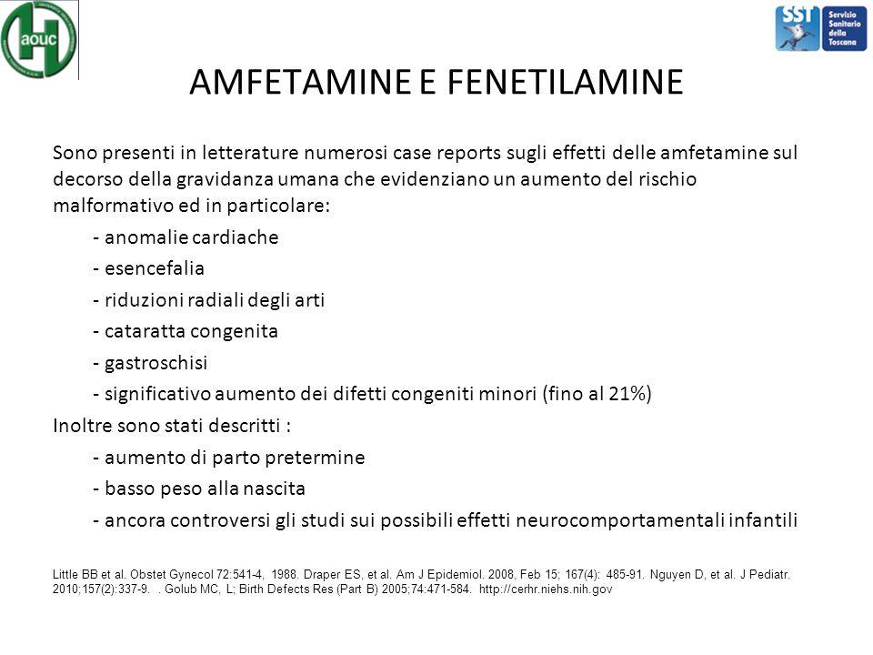 AMFETAMINE E FENETILAMINE