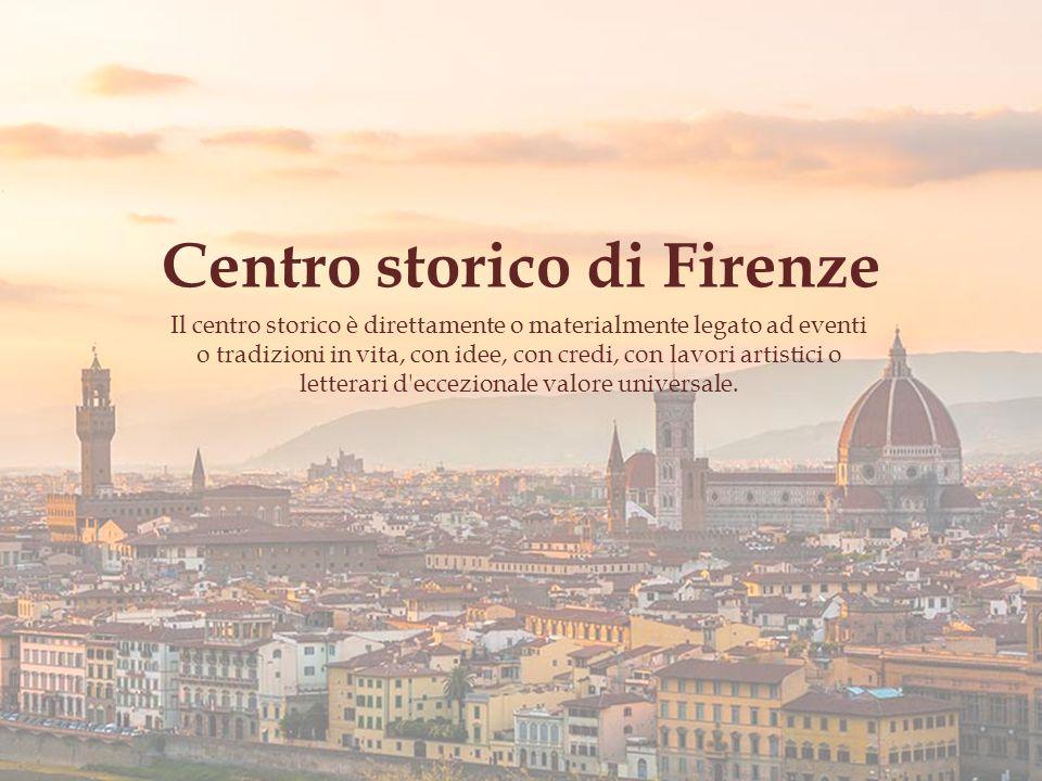 Centro storico di Firenze