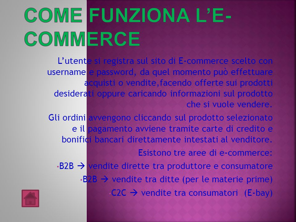 Come funziona l'e-commerce