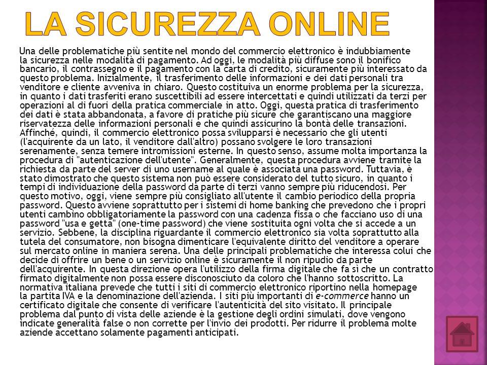 La sicurezza online