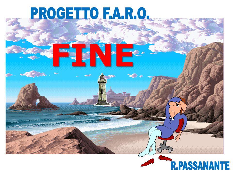 PROGETTO F.A.R.O. FINE R.PASSANANTE
