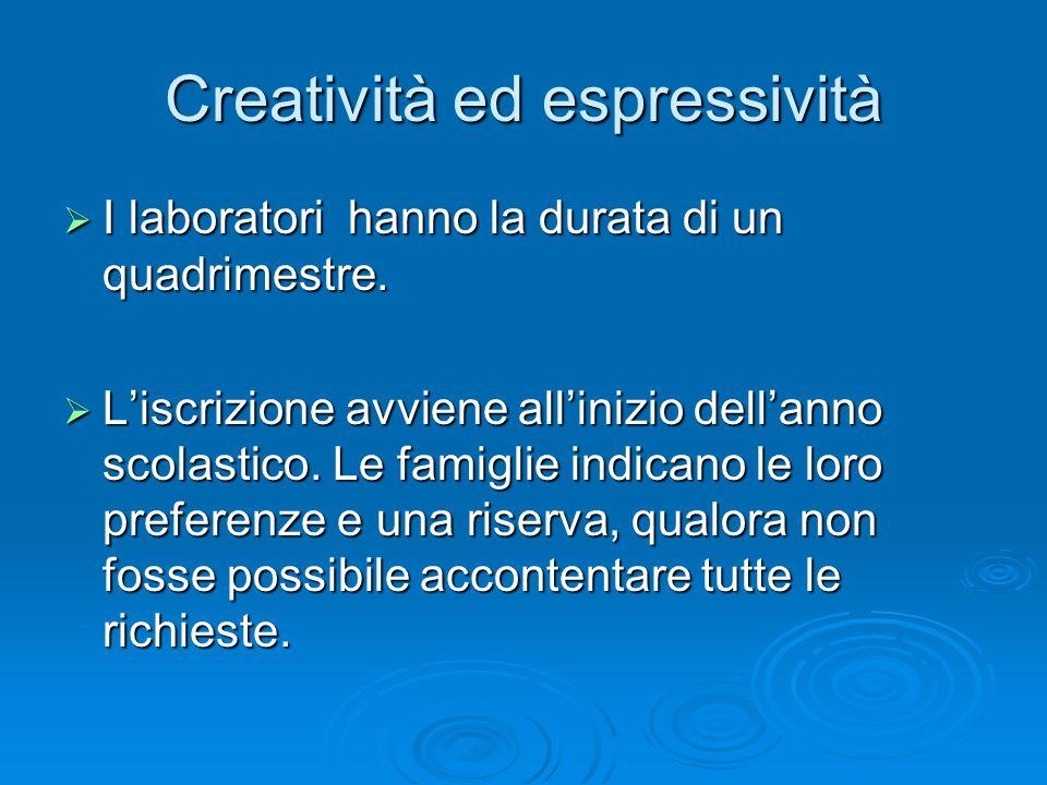 Creatività ed espressività